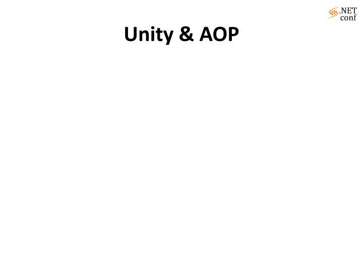 Unity & AOP