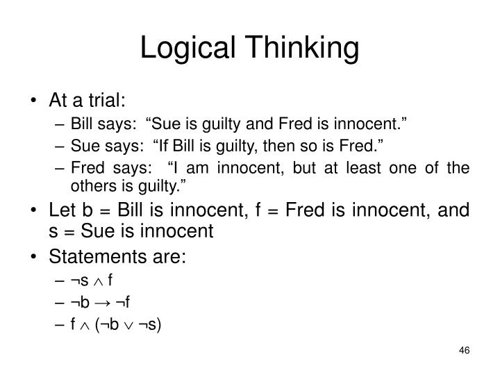 Logical Thinking