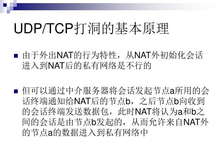 UDP/TCP