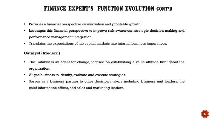 Finance Expert's