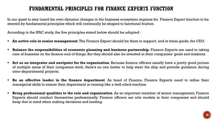 Fundamental Principles for