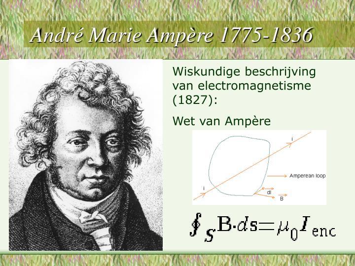André Marie Ampère 1775-1836
