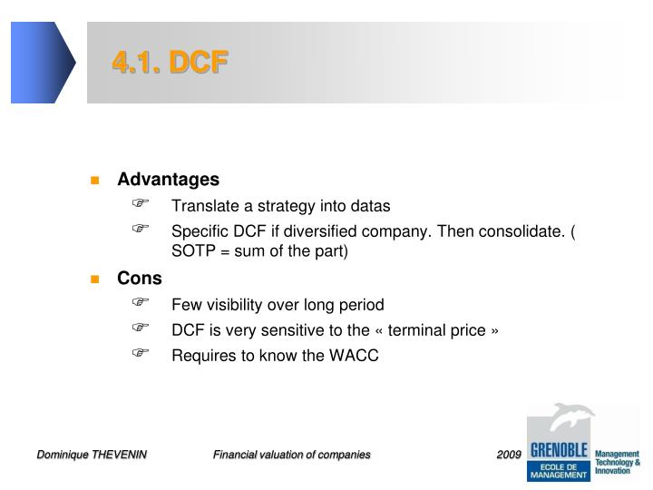 4.1. DCF