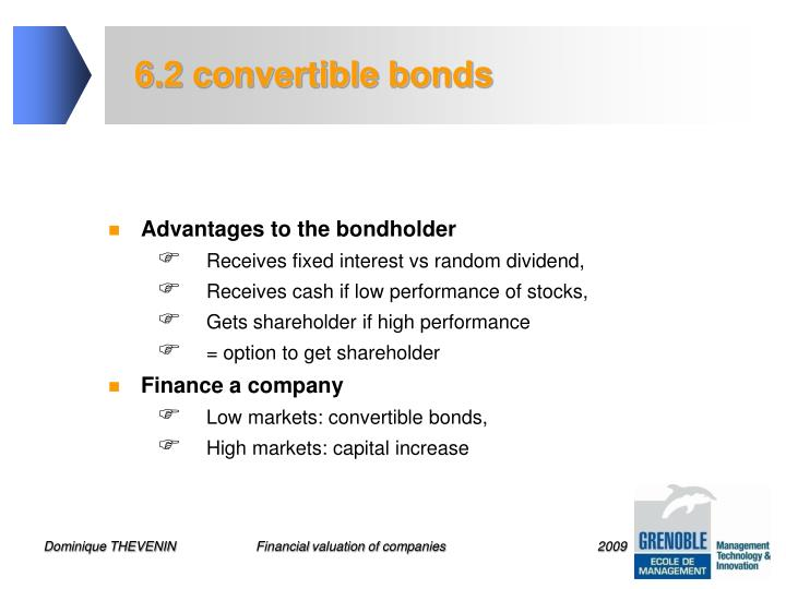 6.2 convertible bonds