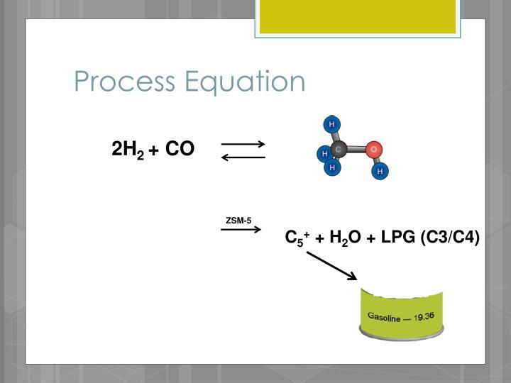 Process Equation