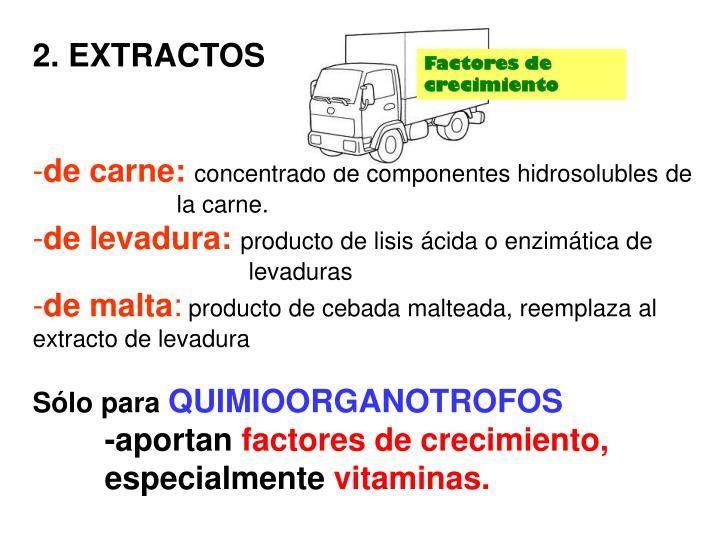 2. EXTRACTOS