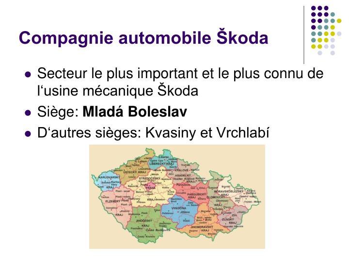 Compagnie automobile Škoda