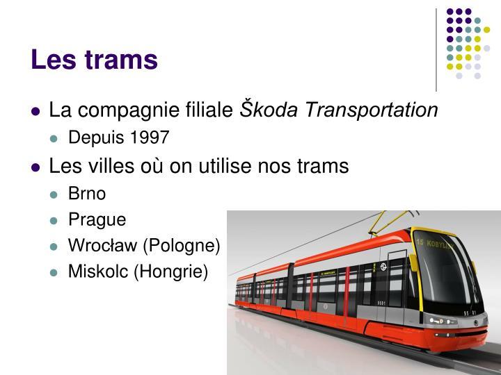 Les trams