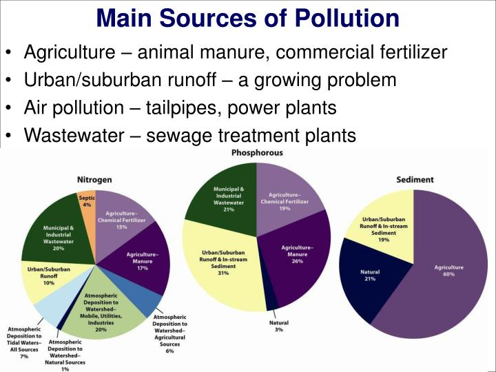 Main Sources of Pollution
