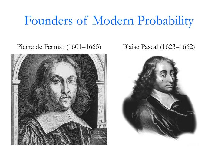 Founders of Modern Probability