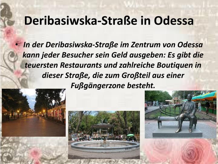 Deribasiwska-Straße
