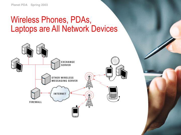 Wireless Phones, PDAs,