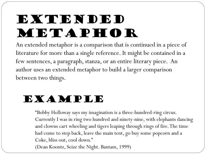Extended Metaphor