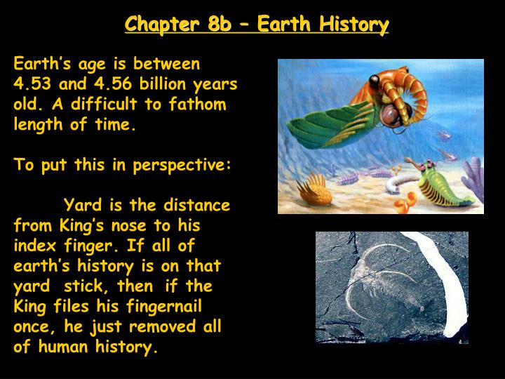 Chapter 8b earth history
