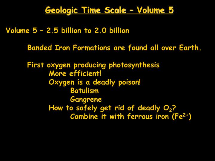 Geologic Time Scale – Volume 5