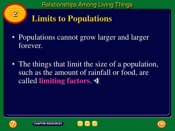 Relationships Among Living Things