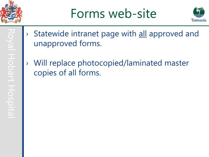 Forms web-site