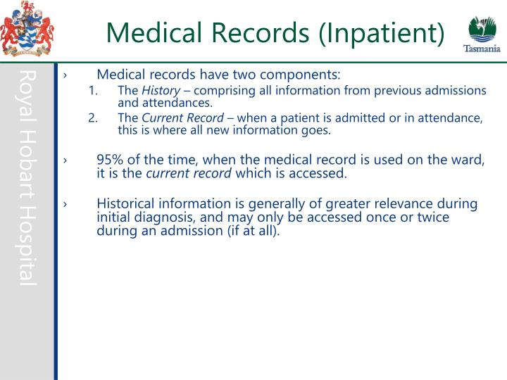Medical Records (Inpatient)