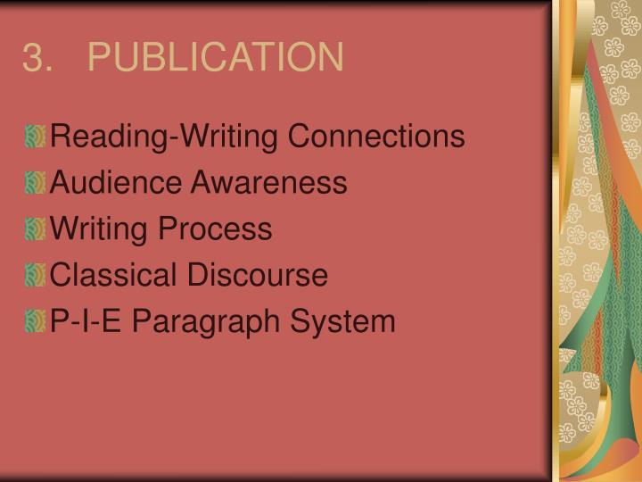 3.PUBLICATION