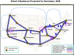 esnet 4 backbone projected for december 2008