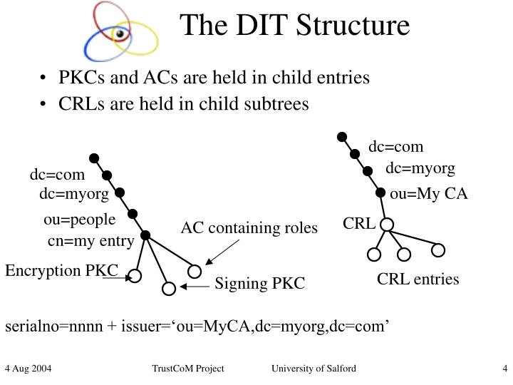 The DIT Structure