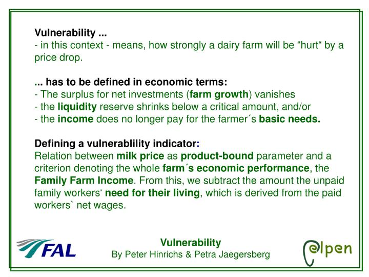 Vulnerability ...