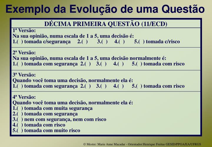 DÉCIMA PRIMEIRA QUESTÃO (11/ECD)