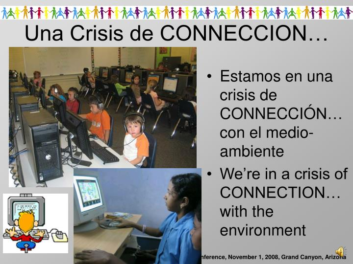 Una crisis de conneccion