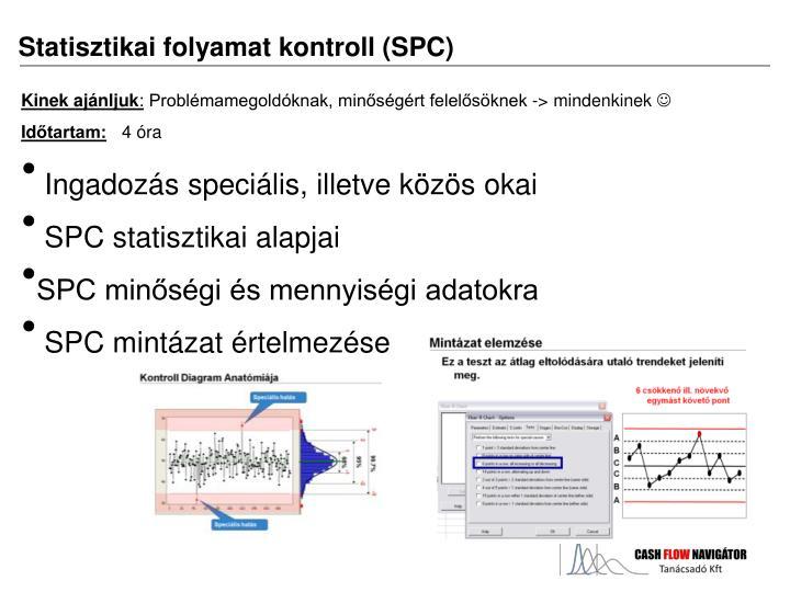 Statisztikai folyamat kontroll (SPC)