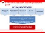2 innovative production stable high economic growth