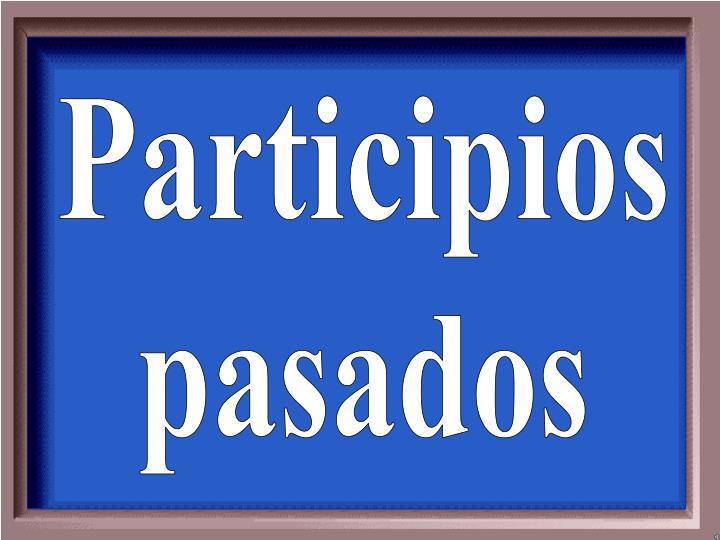 Participios