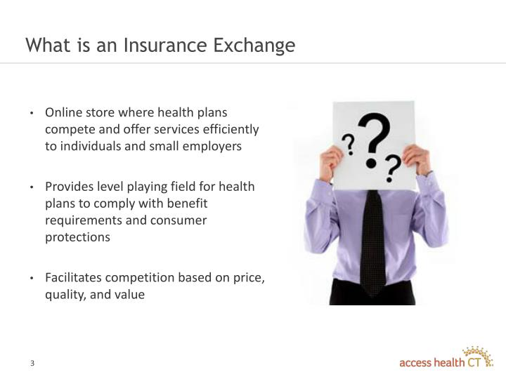 What is an insurance exchange