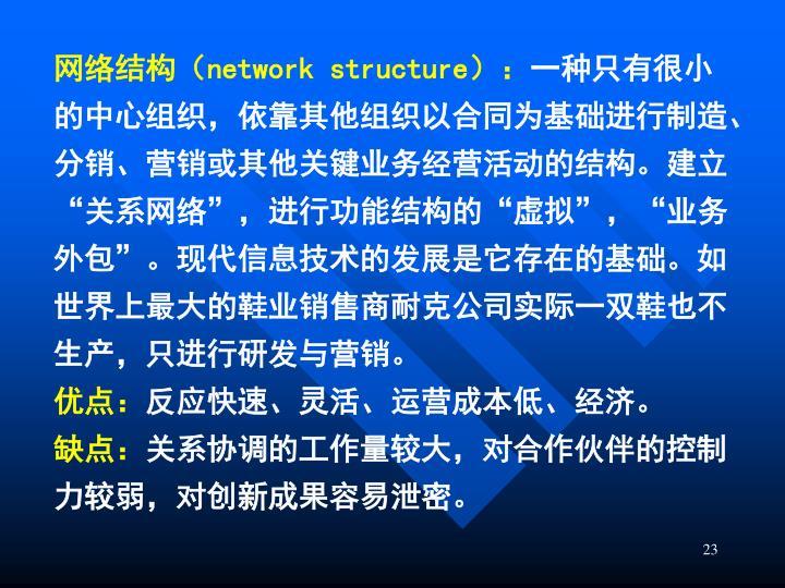网络结构(