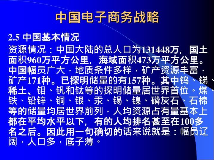 中国电子商务战略