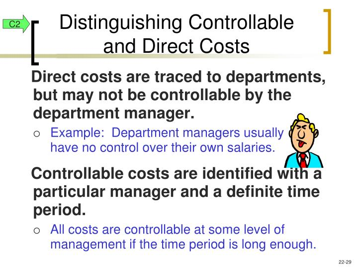 Distinguishing Controllable