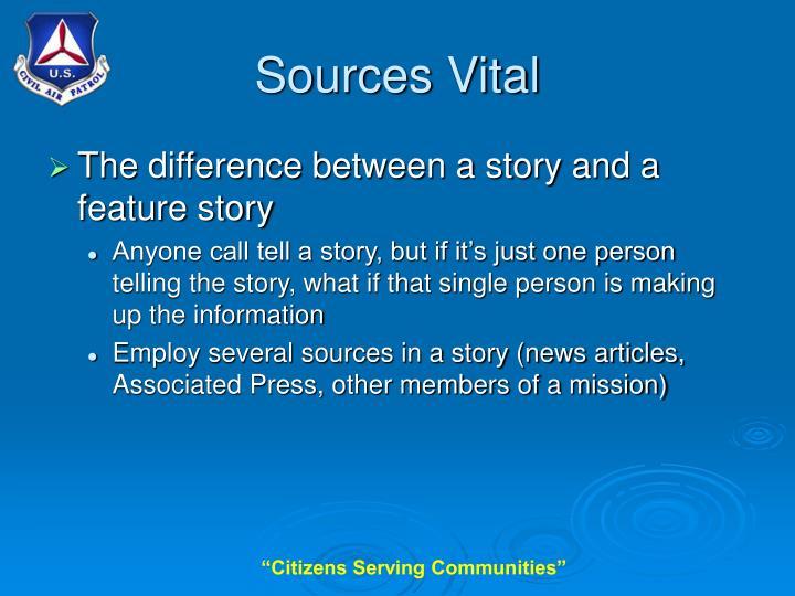 Sources Vital