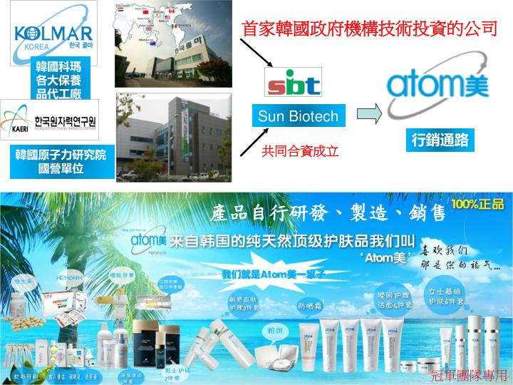 首家韓國政府機構技術投資的公司