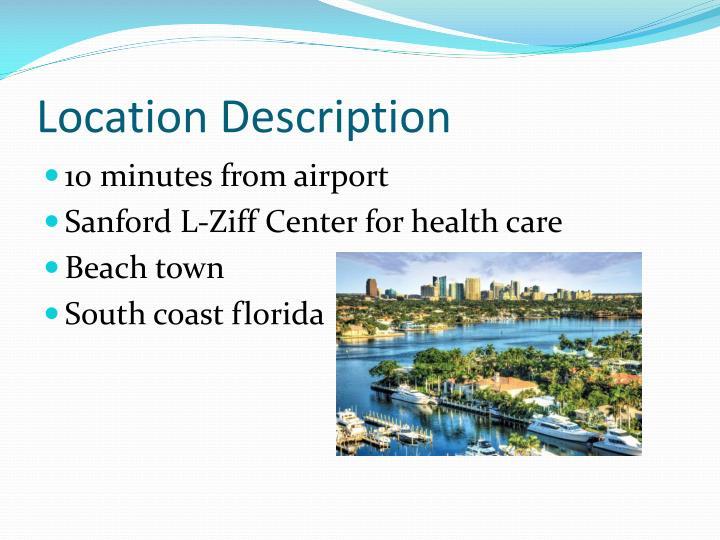 Location Description