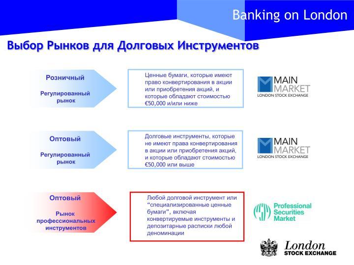 Выбор Рынков для Долговых Инструментов