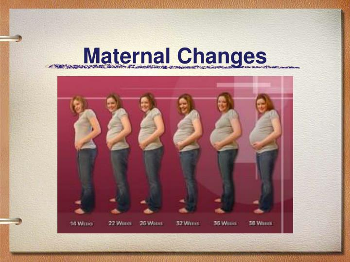 Maternal Changes
