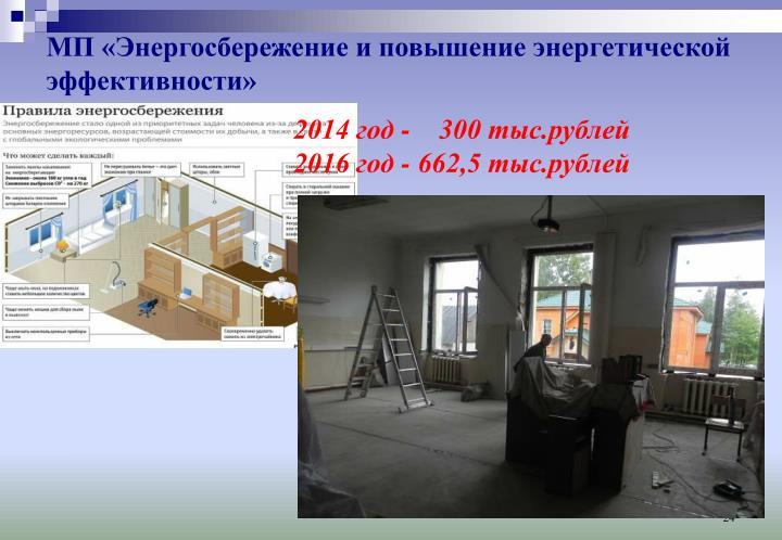 МП «Энергосбережение и повышение энергетической эффективности»
