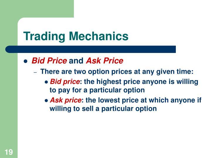 Trading Mechanics