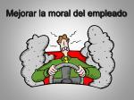 mejorar la moral del empleado