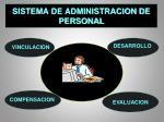 sistema de administracion de personal