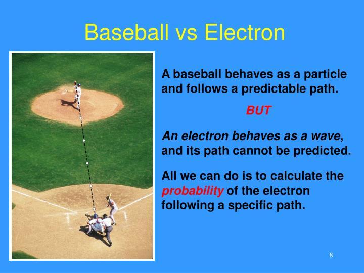 Baseball vs Electron