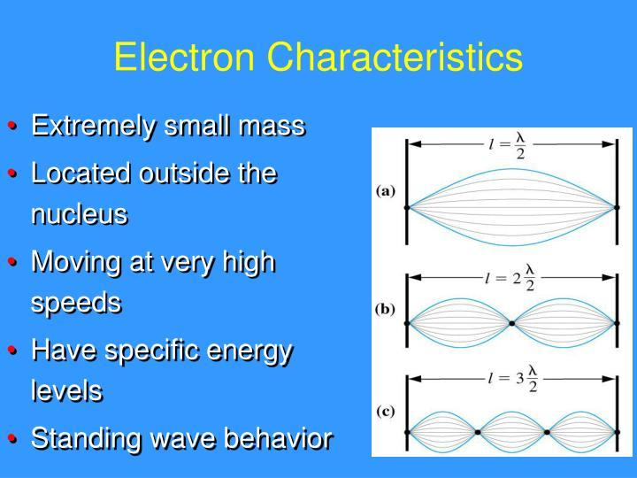 Electron Characteristics