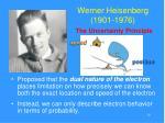 werner heisenberg 1901 1976