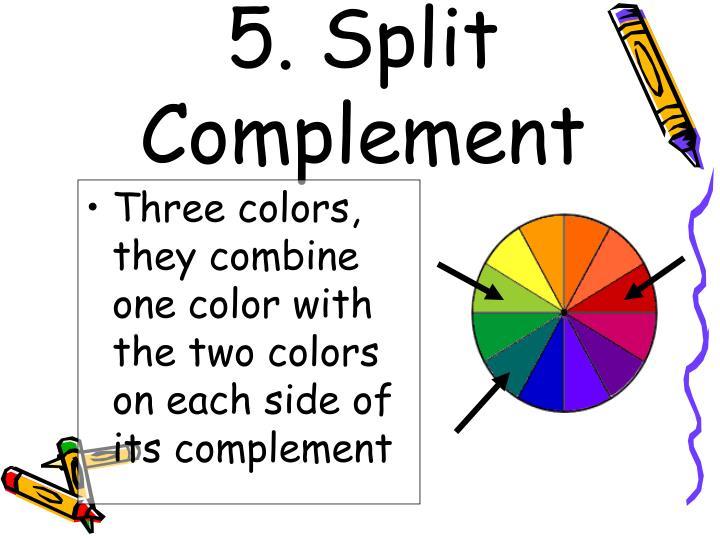 5. Split Complement