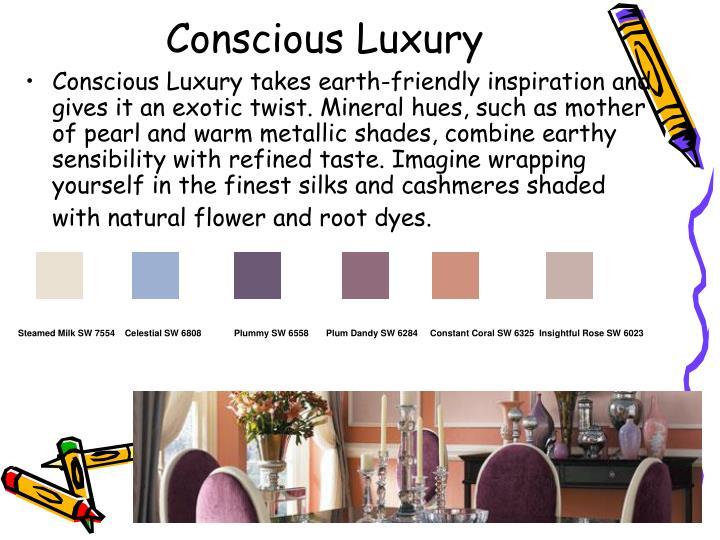 Conscious Luxury