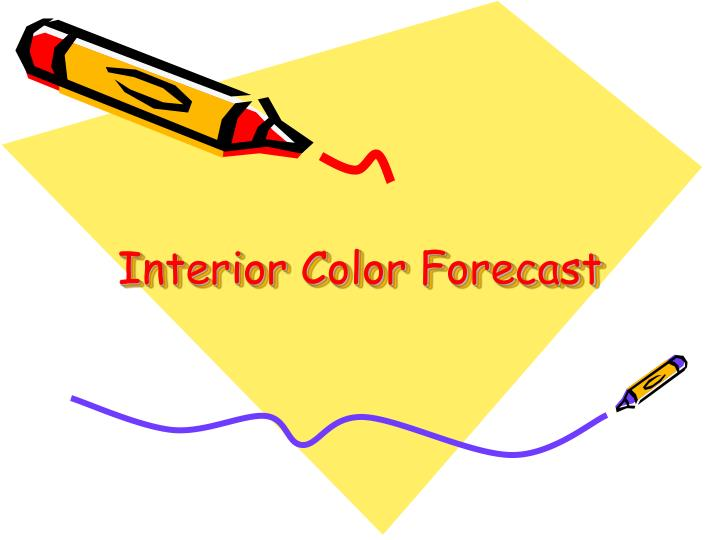Interior Color Forecast